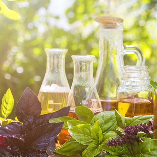 Würz- und Pflanzenöl