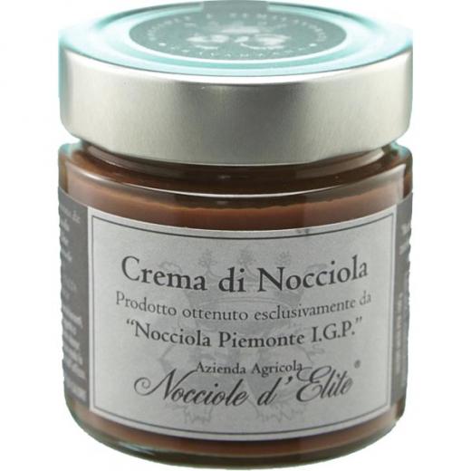 Crema di Nocciola Nocciole d´Elite (Piemont), Haselnuss-Creme DELUXE, 250 g