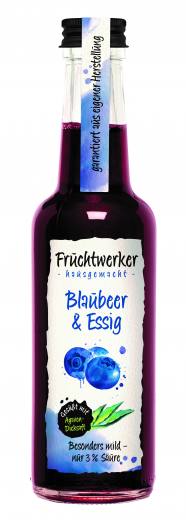 Fruchtwerker Blaubeer & Essig 250 ml. - NEU-