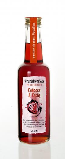 Fruchtwerker Erdbeer & Essig 250 ml.