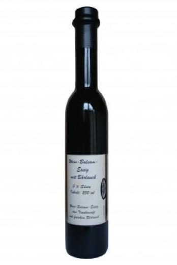 Geniesseressig Wein-Balsamessig mit Bärlauch 250 ml.