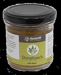 Timrott Steinpilzpesto mit Hanf , 140 ml.