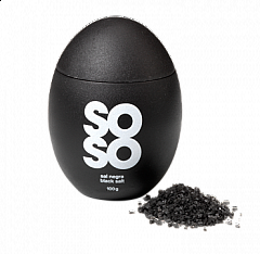 SOSO EGG sal marina ahumada/smoked sea salt, 100g (black)