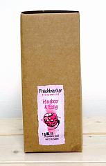 Fruchtwerker Himbeer & Essig Bag-in-Box 3 ltr. mit Zapfhahn - NEU-