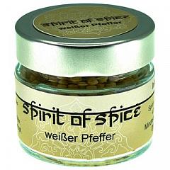 spirit of spice Weißer Pfeffer (ganz) Sri Lanka, 40 g
