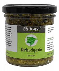 Timrott Bärlauchpesto mit Hanf, 140 ml. - solange Vorrat reicht !