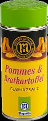 Moguntia Pommes Frites & Bratkartoffel Gewürzsalz 180 g Streuer - NEU-