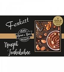 Fenkart Edelvollmilchschokolade Nougat Tonkabohne, 80 g