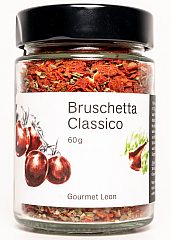 Gourmet Leon Bruschetta Classico 70 g - NEU im Rundglas