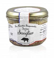 Les Recettes Gourmandes Wildschweinterrine 180 g