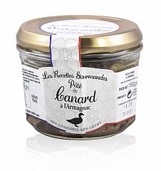 Les Recettes Gourmandes Entenpastete m. Armagnac 180 g