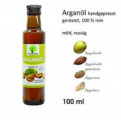 Mansuris Arganöl geröstet, 100 ml