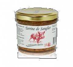 Beauharnais Mini-Wildschweinterrine mit Merlot und Heidelbeeren 90 g